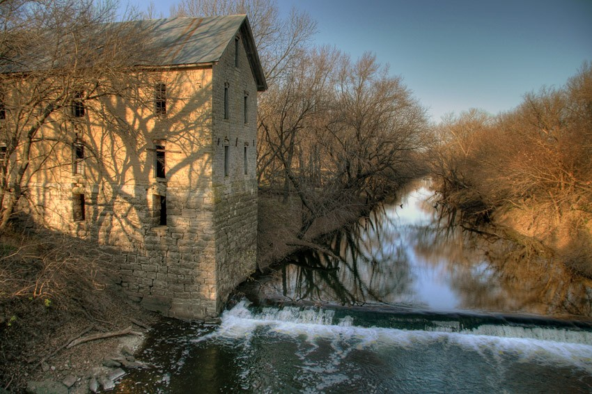 Drinkwater-Schriver Flour Mill, November