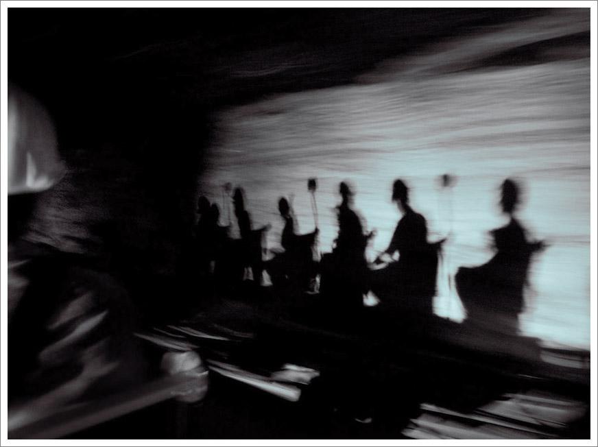 Salt Mine Train – Shadows