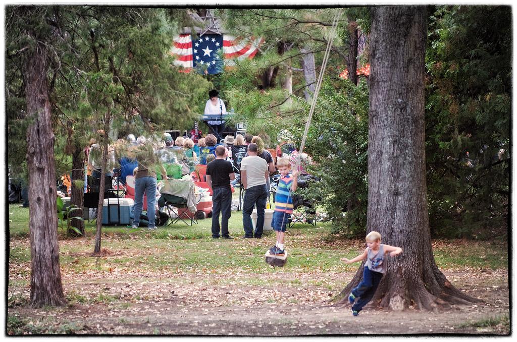 Concert at the Bartlett Arboretum #2