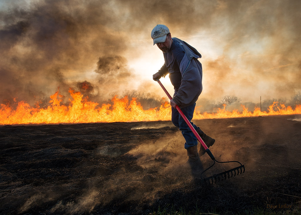 Shawn Mast – Tending the Burn