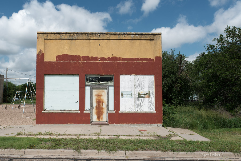 Kansas Storefront with Colorado Scenes