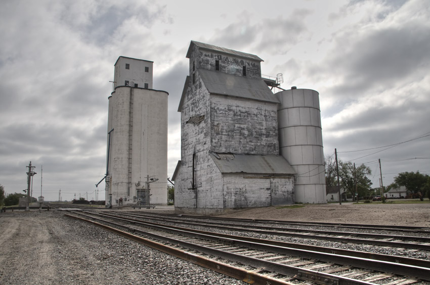 Elevator and Railroad Tracks