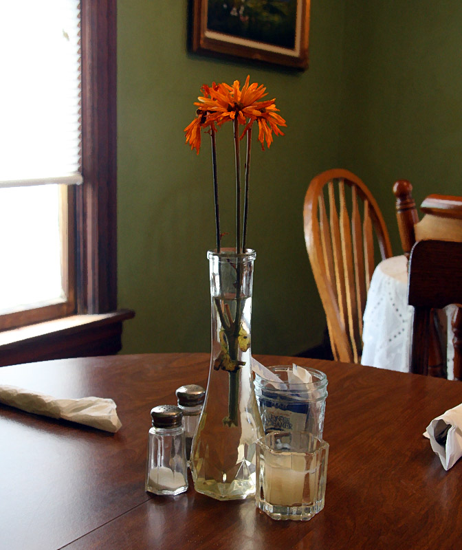 Table Setting at the Miracle Cafe