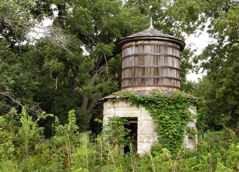 Wood & Stone Water Tower