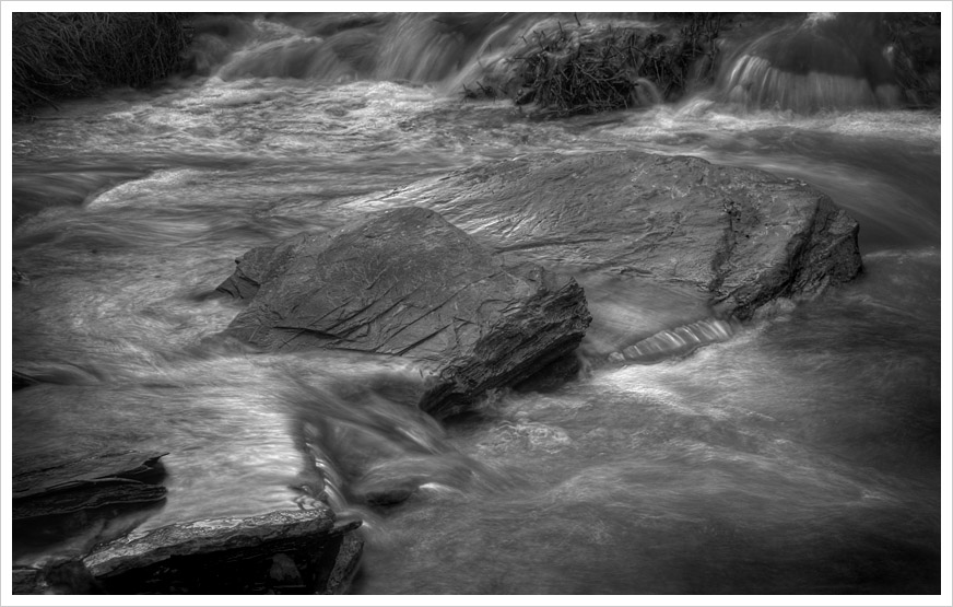 Waterflow and Boulders