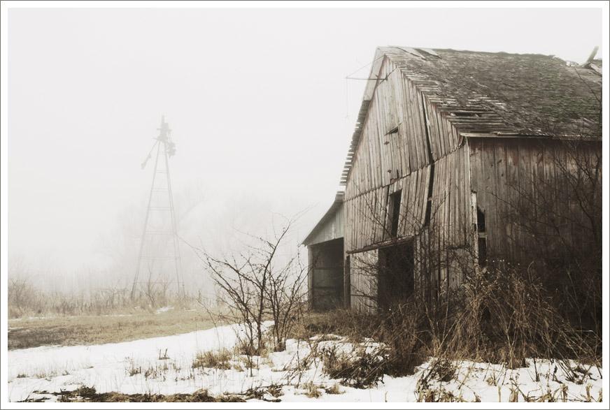 Outside the Barn