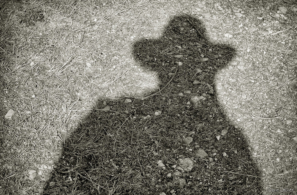 Shadow Self-Portrait on the Ranch Legacy Trail