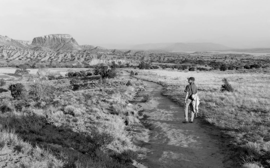 Cheryl Unruh at Ghost Ranch