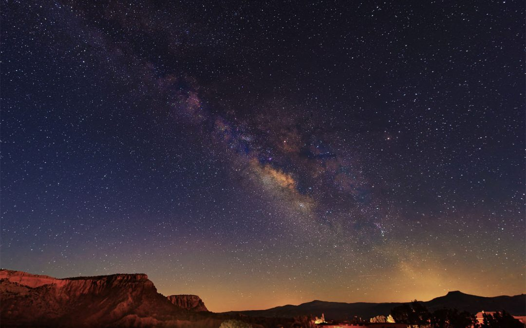 Milky Way over Ghost Ranch, New Mexico