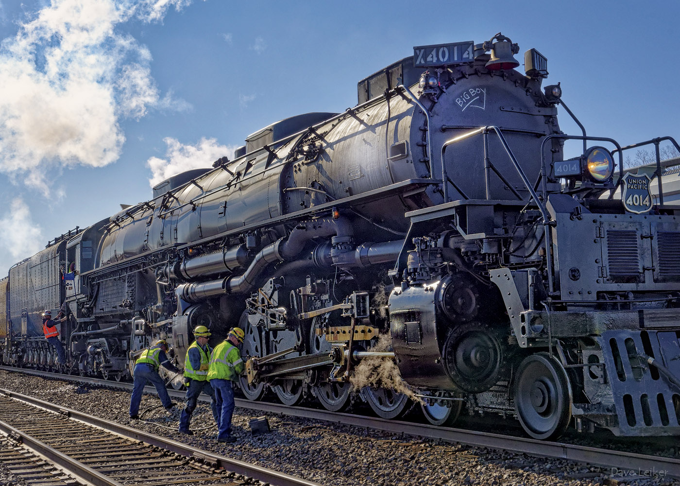 Big Boy Locomotive Maintenance Crew
