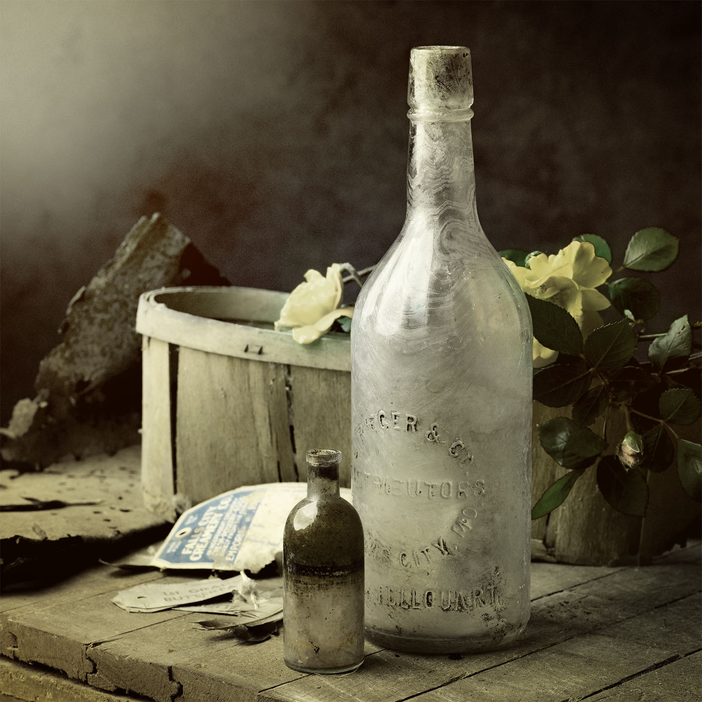 Crawlspace Trash – Bottles and Yellow Roses